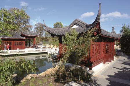 Chinesischer Garten Kultur Tourismus Stadt Weissensee